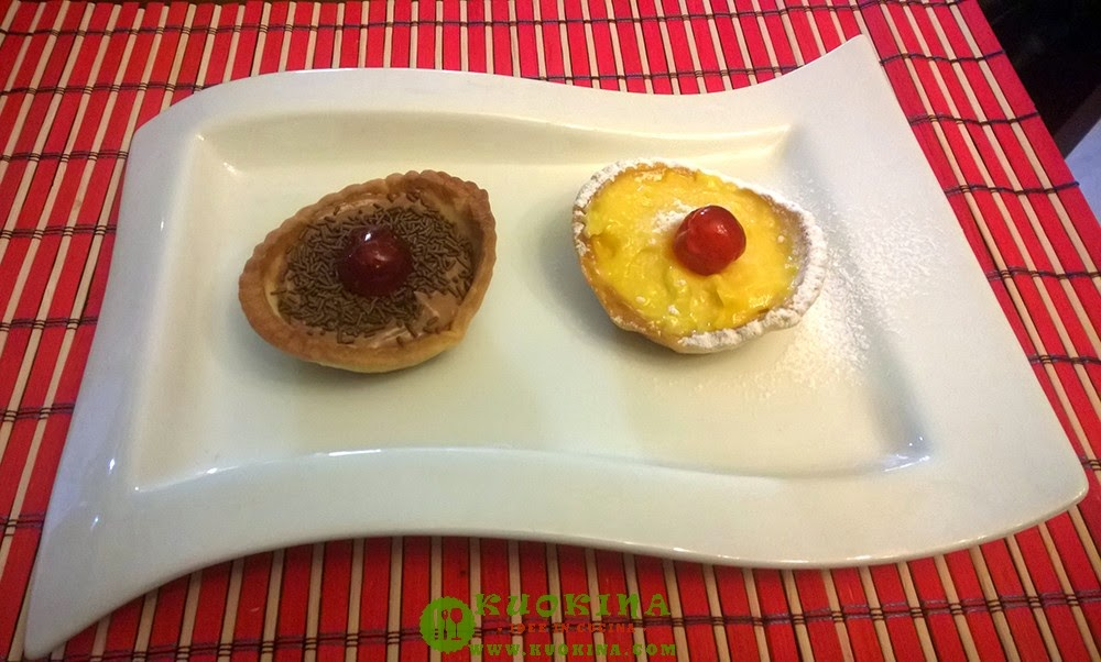 tartellette black e white